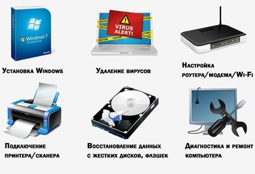 компьютерные услуги Абакан