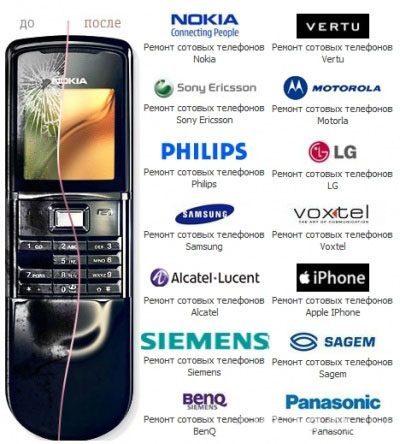 Ремонт мобильных телефонов в Абакане